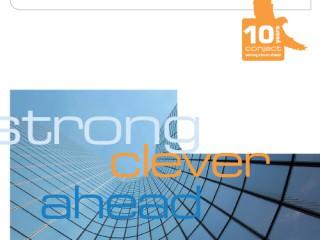 conjectconnect Das Unternehmensmagazin